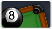2D 8 Ball Billiards