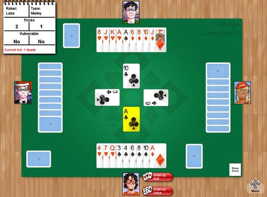 online bridge game