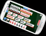 GameVelvet�s online canasta for mobile